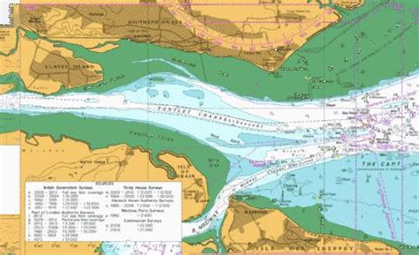 thames river navigation river thames sea reach marine chart 1185 0 nautical