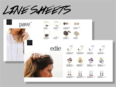 clothing line sheet template jewelry lookbook template style guru fashion glitz