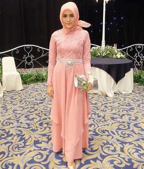 Dress Cewek N Dress Tali 10 desain cantik gaun muslimah untuk ke acara pesta