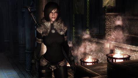 skyrim unp skyrim mod northgirl armor unp hd youtube