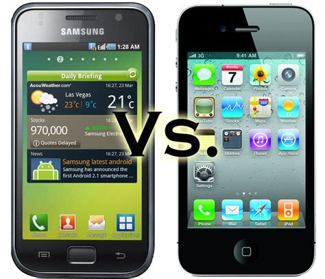Android Versus Apple Phones by The Talon Apple Vs Android