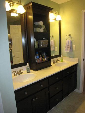how to frame a large bathroom mirror best 25 bathroom counter storage ideas on pinterest