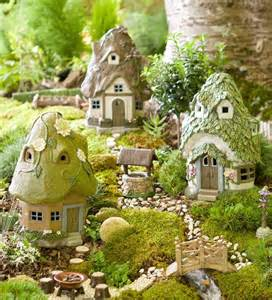 Round Solar Fairy House   Mini Fairy Gardens   Plow & Hearth