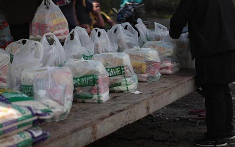 bantuan bekalan makanan  koa sg relang gombak