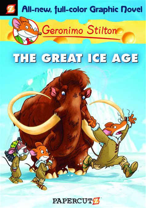 geronimo stilton graphic novel 05 the great ice age hc westfield comics comic book mail