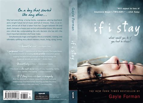 Novel If I Stay And 24 if i stay by gayle forman the story of my