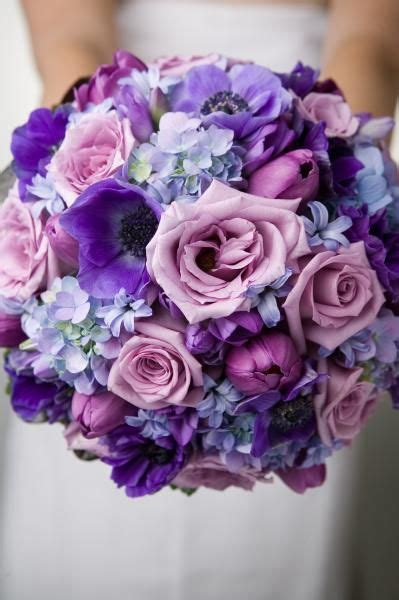 Wedding Flowers Purple by Anemone Wedding Wedding Flower Bouquets And Bouquets On