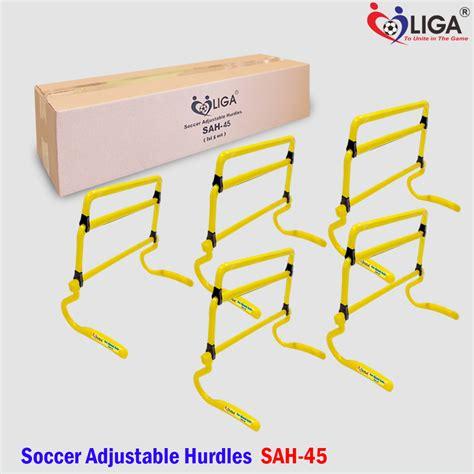 Alat Latihan Bola Cones Mangkok Fbt soccer adjustable hurdles sah 45 a toko alat olahraga