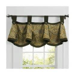 Waverly Patterns Curtains Waverly Clarissa Pattern Valance Curtain Drapery