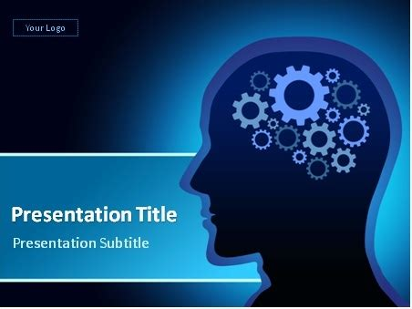 template ppt free brain download brain concept powerpoint template