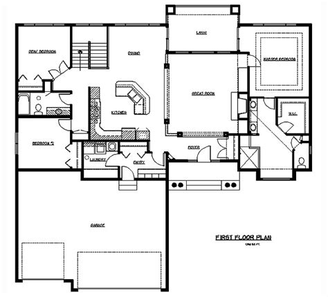 rambler floor plan the maury bethel builders rambler floor plans solve your