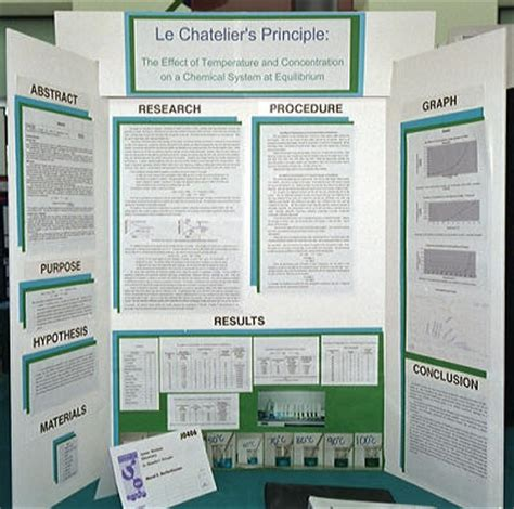 Science Fair The Hall Of Fame Shame Science Fair Project Poster