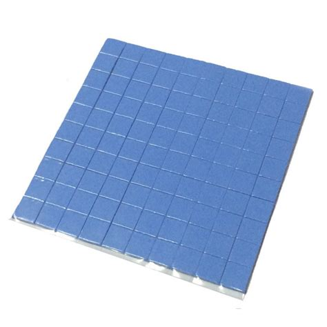 30x30x05mm Thermal Pad Cooling Silicone For Cpu Heatsink 220 2016 high quality 10mm 10mm 1mm 100 pcs thermal pad gpu cpu heatsink cooling conductive silicone