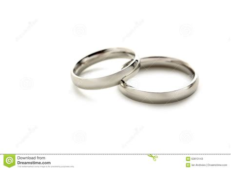 Silwer Rings Photo by Silver Wedding Rings Stock Photo Image 62813143