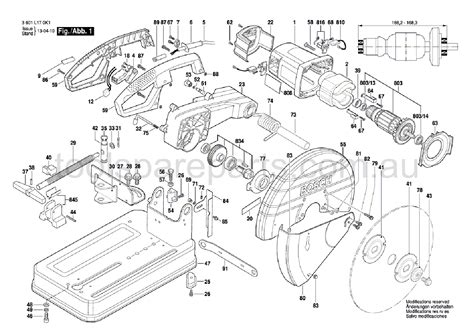 Bosch Field Gco 2000 1609b00129 genuine spare parts for all the brands from makita