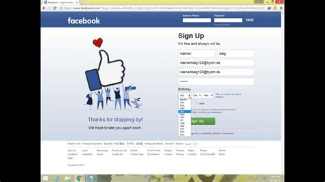 email without phone number how to make facebook account without phone number and