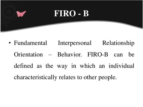 Mba Orientation Programme Ppt by Firo B Hr Ppt Bec Doms Bagalkot Mba