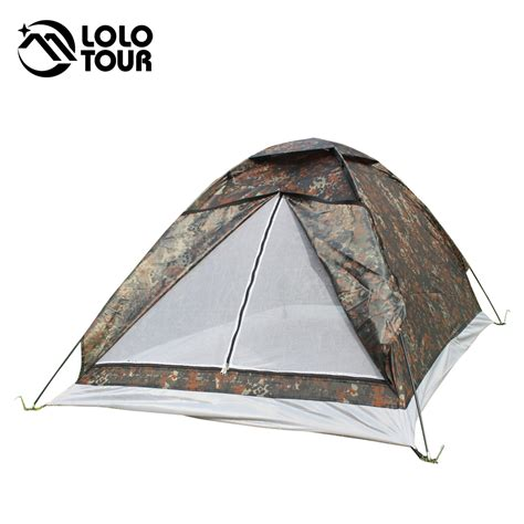 Tenda Great Outdoor 2 Person sale price outdoor portable canvas camouflage tent 2 person travel hiking uv