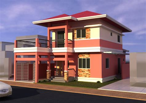 modern design houses in the philippines simple filipino 2 storey house design modern house