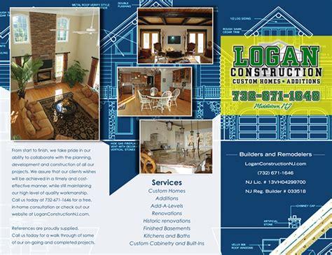 Construction Brochure Template by Logan Construction Brochure On Behance