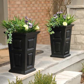 tall planter  pack multiple color options