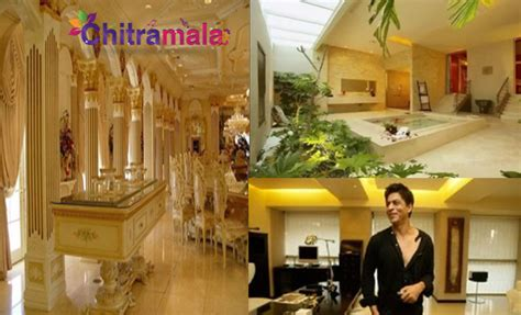 srk home interior a sneak peek into and their luxury