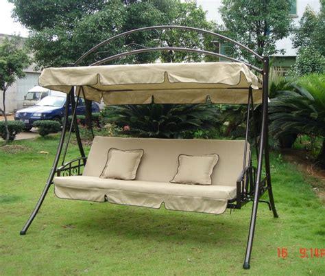 luxury garden swing luxury garden hammock swing chair and bed qf 63133b