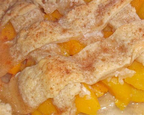 peach cobbler easy peach cobbler recipe dishmaps