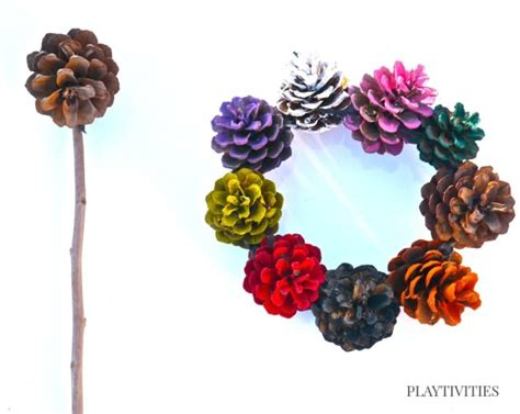 pinecone craft pinecone crafts can play with playtivities