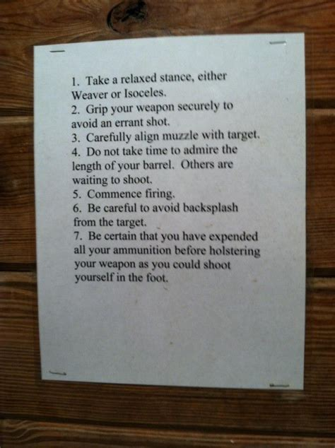 work bathroom rules 17 best images about shooting range on pinterest pistols outdoor shooting range and