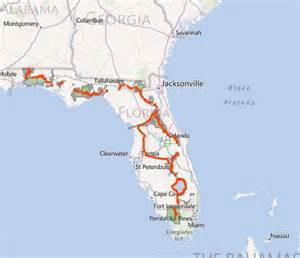map of florida trail florida national scenic trail celebrates 30th anniversary