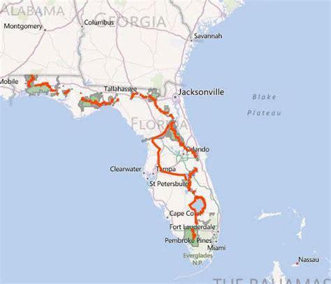 florida trail maps florida national scenic trail celebrates 30th anniversary