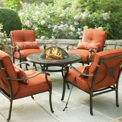 patio dining sets with pits alluring patio outstanding patio set clearance walmart