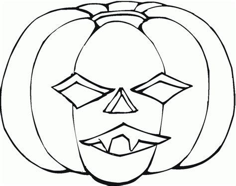 cute pumpkin coloring page scary pumpkin coloring pages scary halloween pumpkin
