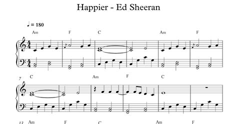 ed sheeran chords happier play popular music happier ed sheeran
