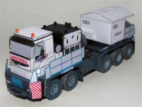 Paper Craft Truck - nicolas tractomas tr 10x10 a 8x8 truck free vehicle paper