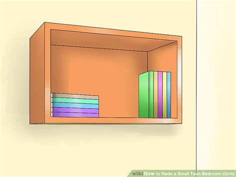 Steps To Redoing A Bedroom by 3 Ways To Redo A Small Bedroom Wikihow