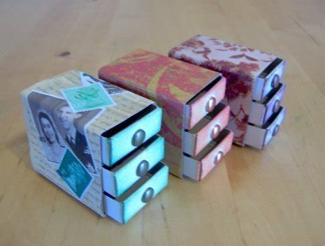 how to make a matchbox chest of drawers 187 curbly diy