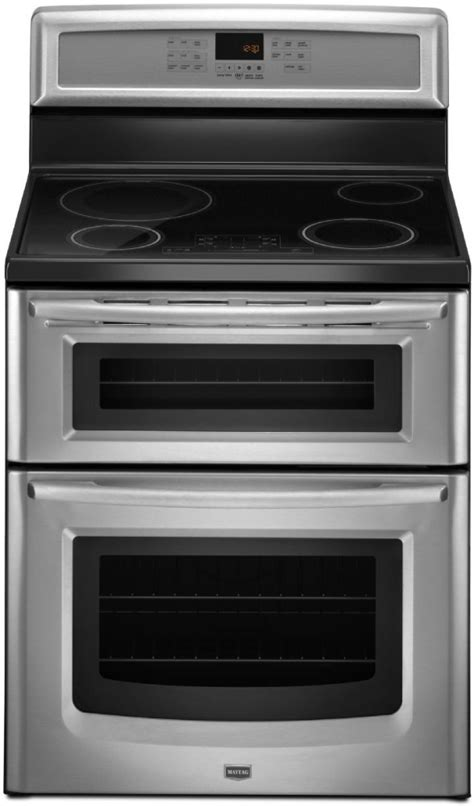 induction heating temperature range maytag mit8795bs 30 inch freestanding induction oven range with 4 heating elements 4 2