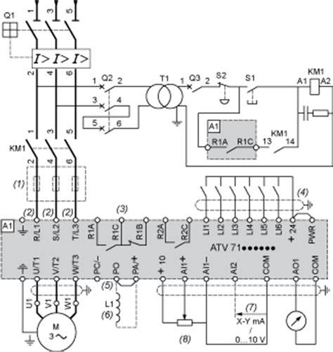 inductance dc variateur atv61hc63n4d387 altivar 61 variateur de vitesse 630kw 900cv 380 480v terminal ip20