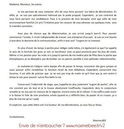 Exemple Lettre De Motivation Key Account Manager D 233 Couvrez La Lettre De D 233 Motivati