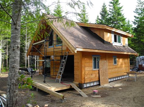 Plans For Building A Cabin gulf island cabin update tamlin homes timber frame