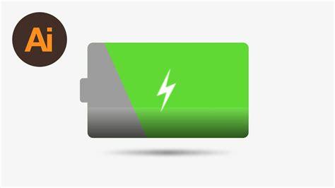 learn   draw  battery icon  adobe illustrator