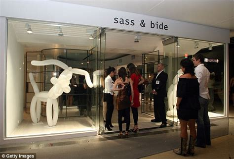Sass Bide Designers Cancer Scare by Sass Bide Leave The Business In The Of Myer
