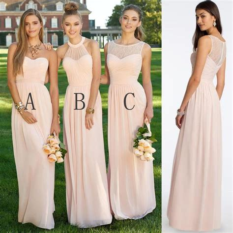 25 best ideas about blush bridesmaid dresses on - Bridesmaid Dresses For Different Sizes