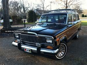 1985 Jeep Grand Wagoneer 1985 Jeep Grand Wagoneer Absolutely No Rust