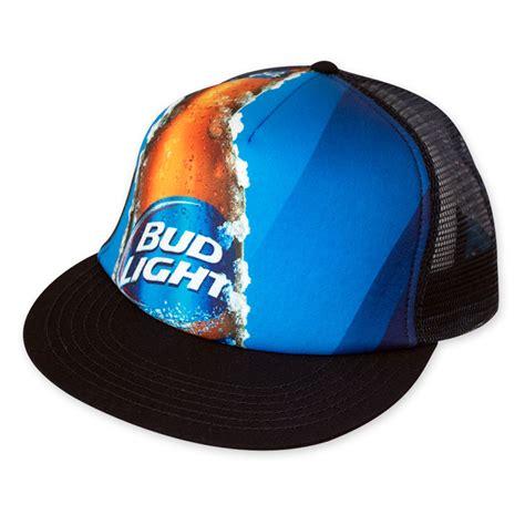 Bud Light Hats Bud Light Photo Mesh Trucker Hat