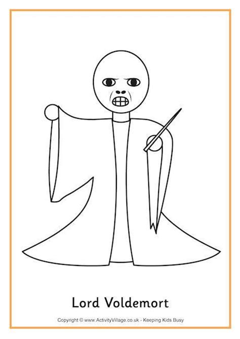 harry potter coloring book tutorial lord voldemort colouring page harry potter always