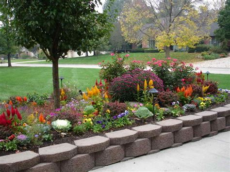 Raised Flower Gardens Gardening Landscaping Nice Raised Flower Garden Raised