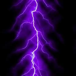 Purple Lightning Purple Lightning Bolt Digital By Juergen Faelchle